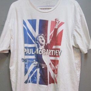 Paul McCartney 2016 Tour Shirt Size 2XL